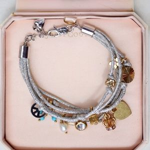 Juicy Couture Metallic Charm Bracelet (NWT)